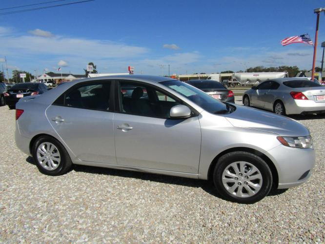 2012 SILVER /Gray Kia Forte LX (KNAFT4A28C5) with an 2.0L L4 DOHC 16V engine, Automatic transmission, located at 15016 S Hwy 231, Midland City, AL, 36350, (334) 983-3001, 31.306210, -85.495277 - Photo #0