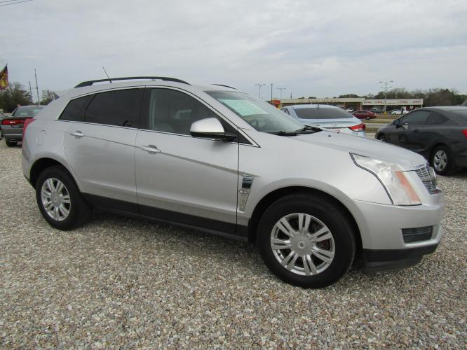 2011 Silver /Gray Cadillac SRX Base (3GYFNGEY2BS) with an 3.0L V6 DOHC 24V engine, Automatic transmission, located at 15016 S Hwy 231, Midland City, AL, 36350, (334) 983-3001, 31.306210, -85.495277 - Photo #0