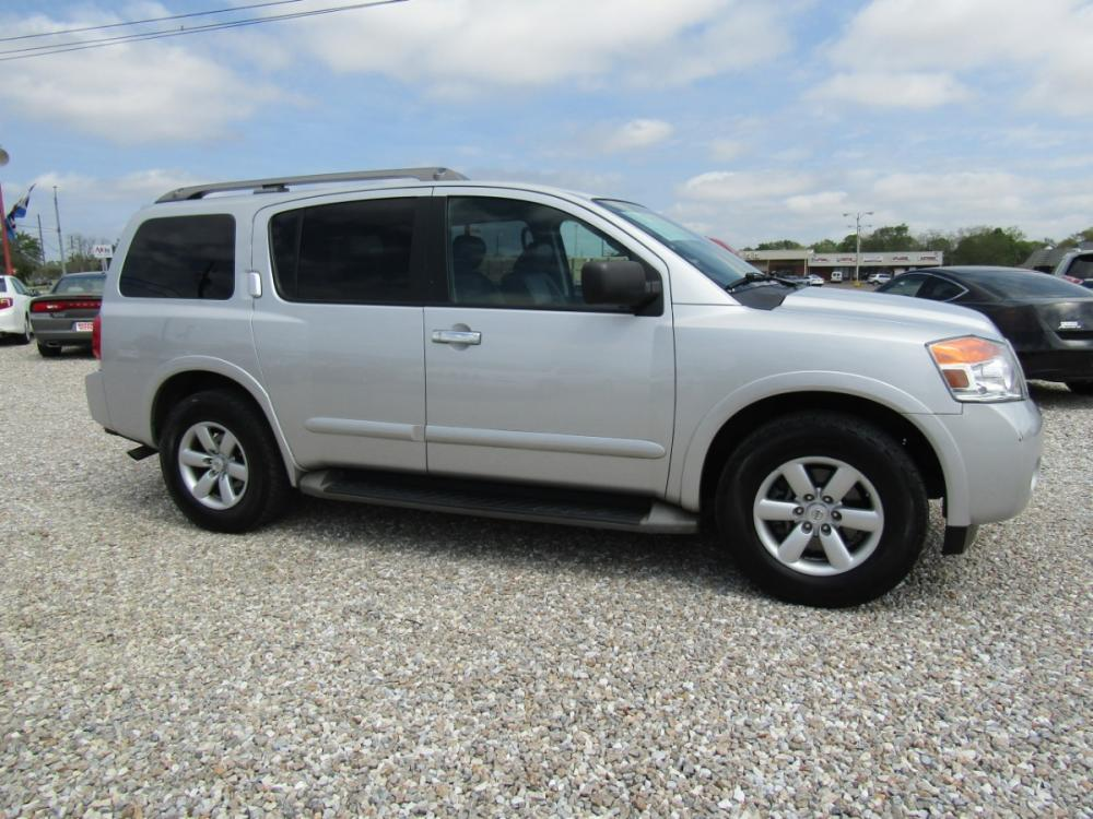 2014 Silver /Black Nissan Armada SL 2WD (5N1AA0ND3EN) with an 5.6L V8 DOHC 32V engine, Automatic transmission, located at 15016 S Hwy 231, Midland City, AL, 36350, (334) 983-3001, 31.306210, -85.495277 - Photo #0