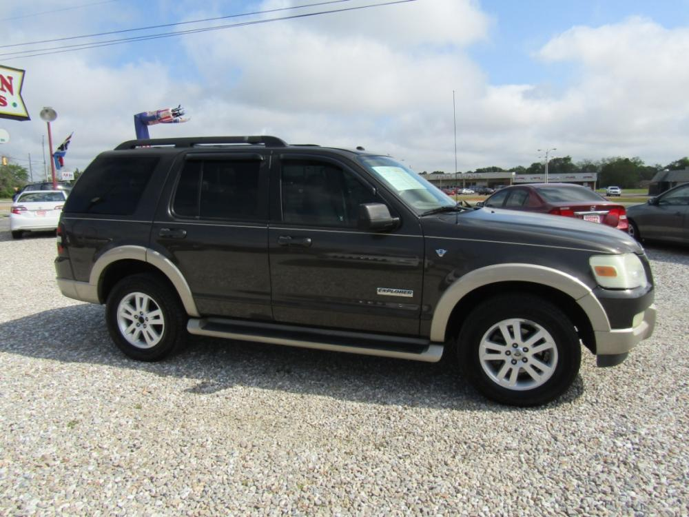 2007 Brown /Tan Ford Explorer Eddie Bauer 4.6L 2WD (1FMEU648X7U) with an 4.6L V8 SOHC 16V engine, Automatic transmission, located at 15016 S Hwy 231, Midland City, AL, 36350, (334) 983-3001, 31.306210, -85.495277 - Photo #0