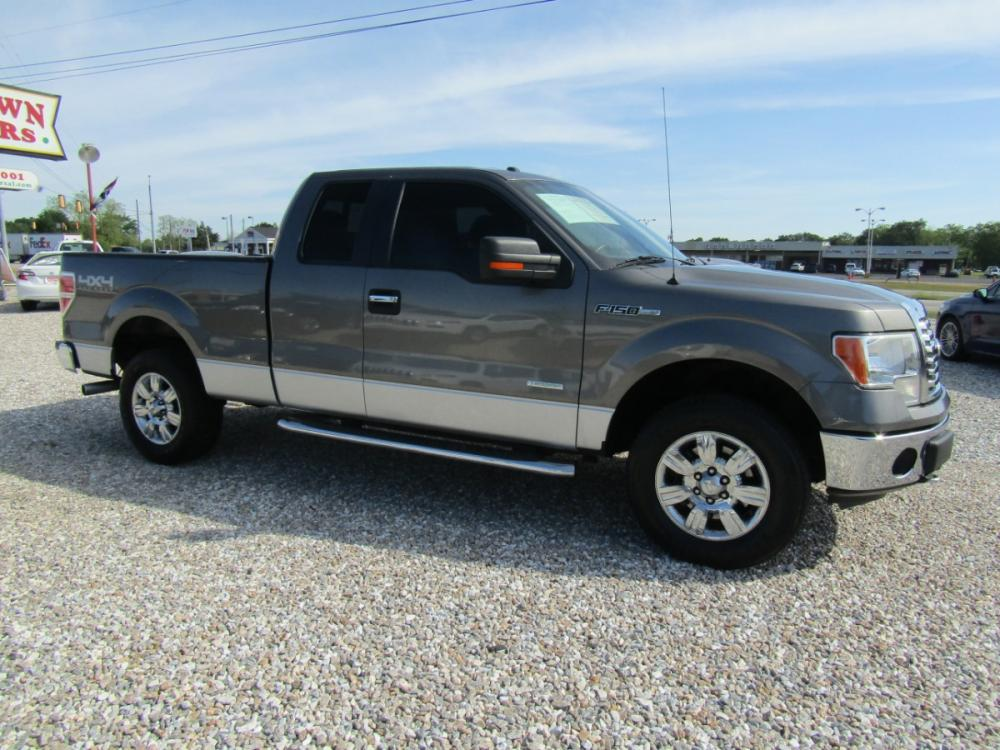 2012 Gray /Gray Ford F-150 FX4 SuperCab 6.5-ft. Bed 4WD (1FTFX1ET1CF) with an 3.5L V6 TURBO engine, Automatic transmission, located at 15016 S Hwy 231, Midland City, AL, 36350, (334) 983-3001, 31.306210, -85.495277 - Photo #0