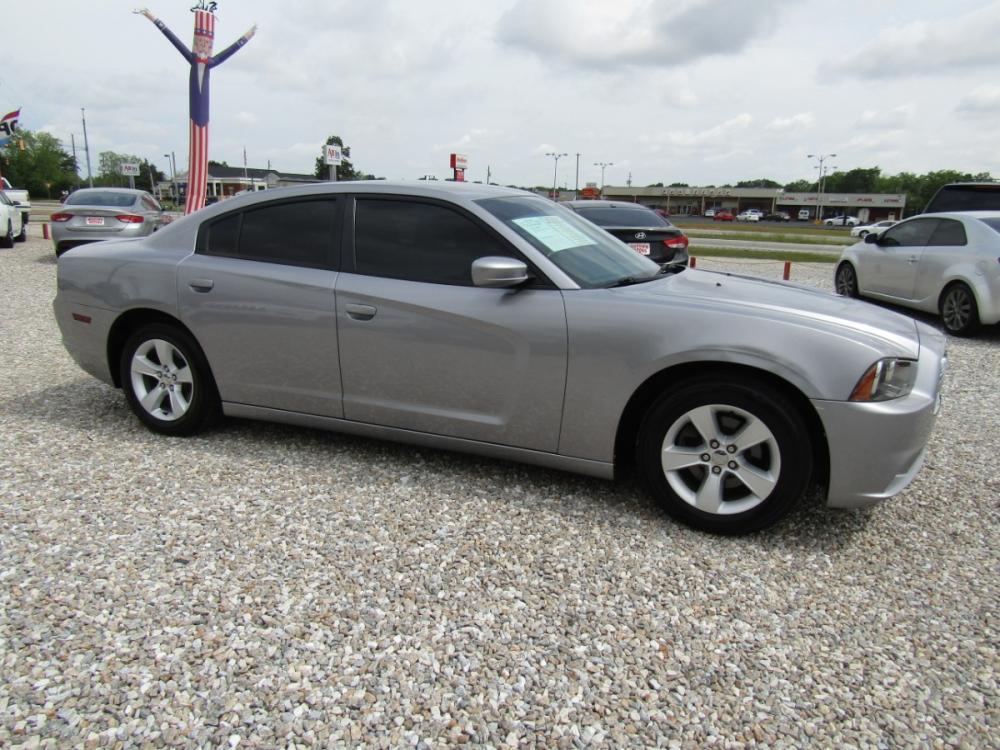 2014 Silver /Black Dodge Charger SE (2C3CDXBG8EH) with an 3.6L V6 DOHC 24V engine, Automatic transmission, located at 15016 S Hwy 231, Midland City, AL, 36350, (334) 983-3001, 31.306210, -85.495277 - Photo #0